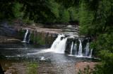 Falls at Presque Isle River 3