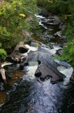 Falls at Presque Isle River 5