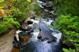 Falls at Presque Isle River 7