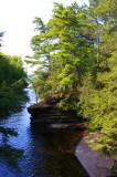 Presque Isle River Entering Superior