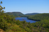 Lake of the Clouds from Big Carp River Trail
