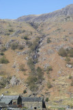 Sour Milk Gill - not as steep as it looks head on