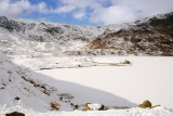 Easedale tarn - yes, iced over and snow covered