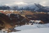 Helm crag ridge with Fairfield beyond