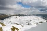 near Great Castle how on ridge dividing Easedale & Great Langdale valleys