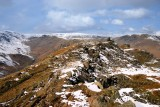 Helm Crag with Far Easedale valley to left