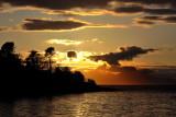 5 scottish sunsets - 1 from Glenuig jetty