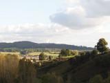 view from Hope End towards Eastnor obelisk
