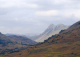 Langdale pikes from Little Langdale valley