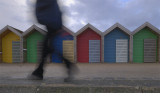 Blyth Beach - A Windy Winters Day