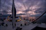 Sunset from the Nemo I