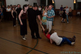 David and Micah(sp?) are dragged into the Lindy Hop demo