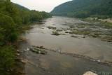 Shenandoah River in Harpers Ferry National Park