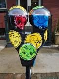Painted Parking Meter