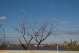Plane on approach to Ronald Reagan National Airport