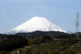 Mt Fuji(富士山)  and Ueno (上野) in Tokyo, Japan (3) 2010