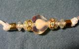 detail-Heart bead