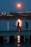 Fishing by the Light from Flare Gas
