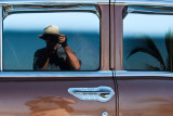 Self Portrait with Palm and '55 Chevy