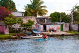 Canoeing near Plaza de la Vigia