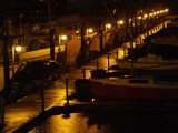 Evening Rain at the Port Angeles Boat Haven