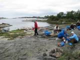 Lunch på Inra Hamnskär