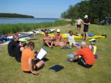 Delar av grup 1 + 3 vid Sandösunds camping