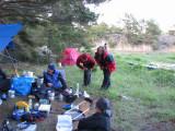 Kjelle samtalar, Anna och Ewa stretchar