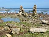 Sculptures & low tide