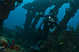 Mauricio Handler at the Wreck of the Rhone
