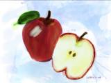 Watercolor Apples Painter 9