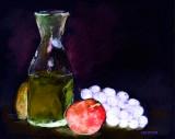 Wine & GrapesWatercolor