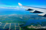 Flying over Recife, PE