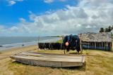 A jangada and fishing nets