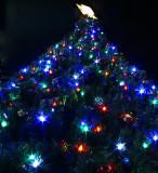 A Proper D60 Blue & Green Christmas Tree