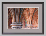 Arch Detail in 18x24 Frame, Triple-Matted
