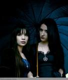 rainy Goth shoot   Cinci, Oh