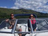 Stephen and Liz on Loch Lomond.JPG
