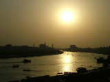 Dubai Creek at Sunset.JPG