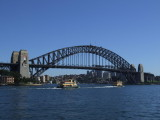 Ferries under Sydney Harbour Bridge.JPG