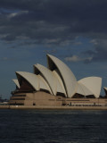 Opera House in the clearing sun Sydney.JPG
