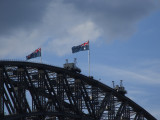 Sydney Harbour Bridge Flags.JPG