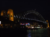 Night view of Sydney Harbour Bridge.JPG