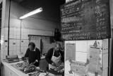 Butchers in the Ayiou Antoniou Market in Nicosia