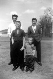 Lynn Kevin Eric and Dale 1962