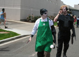 Intergalactic Starbucks Barista