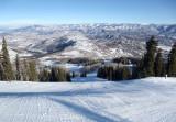 Skiing Snowmass