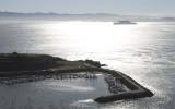 Alcatraz and Sausalito Harbor