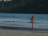 The Girl from Manuel Antonio Goes Walking