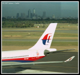 Malaysia A330 tail and Perth